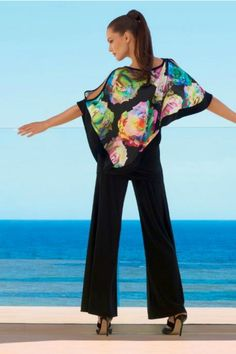 Eva Floral Top - from Joseph Ribkoff early 2016 Collection