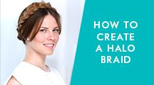 Moroccanoil Tutorial: How to Create a Halo Braid