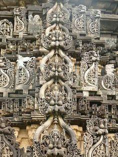 Amriteshwara temple in Chikmangaluru Karnataka India .