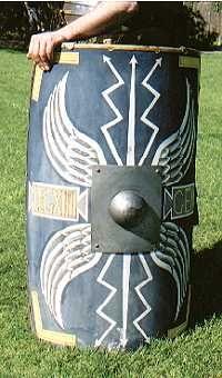Romans soldier's shield (Scutum)