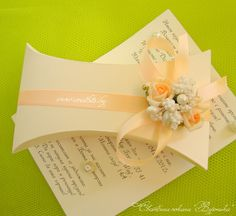 Сватбена покана Вероника / Wedding invitation Veronica / www.svatbite.bg