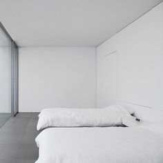 """when you don't have the wherewithal to """"design"""" your home so you just opt for: beautiful. functional. minimal. okinawa, japan residence by architect shinichi ogawa & associates. #minimal #interiors #archilovers"""