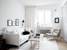 The clean, calm Swedish home