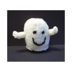 Halloween Eyeballs, Halloween Toys, Halloween Ghosts, Halloween Night, Halloween Projects, Loom Knitting, Baby Knitting, Knitted Baby, Free Knitting