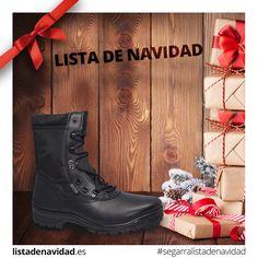 Calzado Militar de Lista de Navidad #calzadossegarra #listadenavidad #navidad #regalos #moda #tendencia #calzadosafari #calzadotendencia #militar #tactico #seguridad #policia