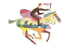 Mixed media illustrations by Andrew Holder via Partfaliaz http://ift.tt/21gL6nM