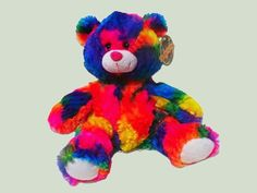 Teddy Tastic Make a Bear - Magic the Rainbow Bear is the complete 'make a bear' package, suitable from birth. Party Bag Fillers, 2 Year Olds, Party Bags, Birth, Teddy Bear, Rainbow, Magic, How To Make, Baby