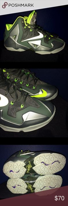 Lebron 11 Dunkman Sz 10.5 Lebron XI Dunkman sz 10.5. Used twice In great conditions Nike Shoes Sneakers