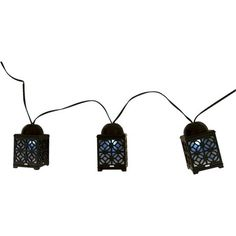 Solar Marrakech String Lights (20ct) - Threshold™ : Target