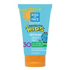 Kiss+My+Face+-+Kids+Defense+Mineral+SPF+30+Sunscreen+Lotion+$+8.99