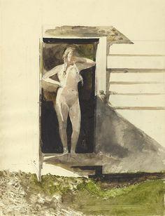 Andrew Wyeth - In the Doorway