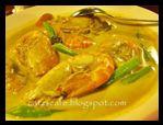 Prawn and Bamboo Shoot Curry   Gulai Buluh Udang