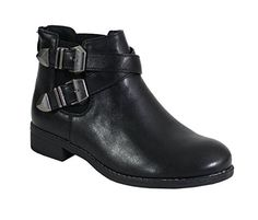 By Shoes - Bottine Plate Style Rock - Femme