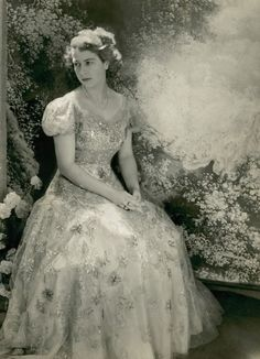 Princess Elizabeth Dressed by Norman Hartnell (Queen Elizabeth)