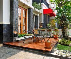 Porch-tropical house