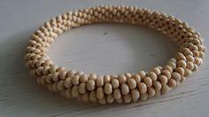 Wooden bead crochet rope by RiikkaT