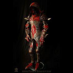 Warlock armor made back in 2016 #princearmory #leather #custom #customleather #customarmor #armor #costume #fantasy #art #layers #handmade #throwback #trending #leatherart #medievalarmor #LARP #cosplay #mage #warlockarmor