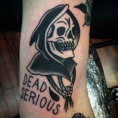 tattoo reaper tattoo classic tattoo oldschool tattoo photos tattoos ...
