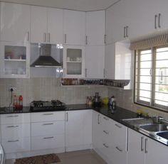 cucine ad angolo moderne piccole - Cerca con Google | Интерьер ...