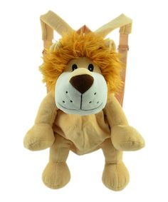 Brown Lion Backpack by Twinkie Animal Backpacks, Little Ones, Lion, Projects To Try, Plush, Teddy Bear, Animals, Leo, Lions