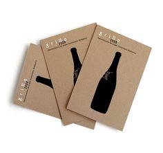 BROCHURE VINO | ... su vetro per i vini del Somontano Grillo. Progetto di Isidro…