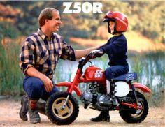 1986 Honda Z50R Brochure. #Honda Monkey #Z50