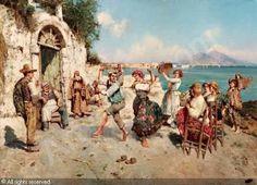 Sorrento and the dance, tarantella