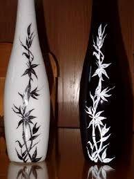Resultado de imagen para jarrones pintados a mano