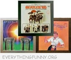 Awesome Record Album Frames - Display your Old Favorite Album Covers as Art on the Wall