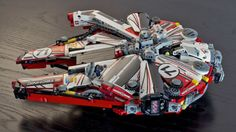 The Lego Millennium Falcon Looks Fantastic Decked Out in Racing Livery