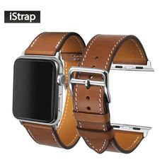 Genuine Calf Leather Watch Band for the Apple Watch 38/42mm