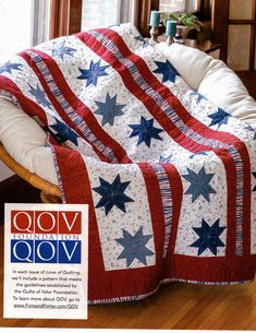 Star Spangled Beauty - Quilt of Valor