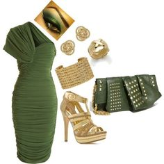 Green & Gold Glam