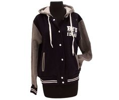 BYU-Idaho University Store - BYU-Idaho Ladies Varsity Sweatshirt Jacket