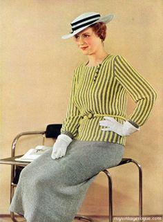 1934 Minerva Knit Fashions