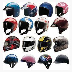 Tipos de cascos de motos #Casco #Moto #Cascos Half Helmets, Kids Helmets, Full Face Helmets, Accident Attorney, Injury Attorney, Cool Motorcycle Helmets, Bicycle Helmet, West Palm Beach, Vintage Helmet