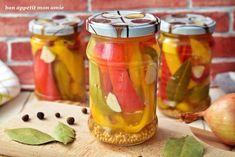 Bon appetit mon amie: Papryka marynowana Mason Jars, Bon Appetit, Mason Jar, Glass Jars, Jars