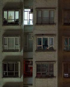 MICHAEL WOLF PHOTOGRAPHY Window Watching 9