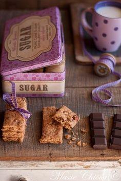 Cookies mi-figue mi-raisin sans sucre ajouté 5 Fruits Secs Bio, Pie Co, Vegan Kitchen, Chocolate Coffee, Cookies Et Biscuits, Polenta, Raisin, Tea Time, Brunch