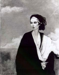 "Romaine Brooks, ""La Venus triste"" (Ida Rubinstein), 1917, France, Musées de la Ville de Poitiers"
