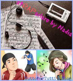 E da oggi: NUOVA RUBRICA, NUOVA COLLABORAZIONE! Nadia, la mia nipotina affascinata dalla musica RAP! Avete mai analizzato il testo di una canzone? Avete mai ascoltato attentamente le canzoni RAP? stRAParlare by Nadia ci offre licenze poetiche, liriche, figure retoriche e quanto di bello ci offrono i testi di musica RAP.  http://tucc-per-tucc.blogspot.it/search/label/stRAParlare