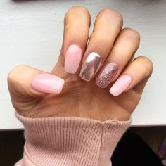 Glamour Chrome Nails Trends 2017 30