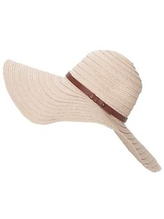 Rag & Bone Woven Straw Hat ...a great source of sun protection