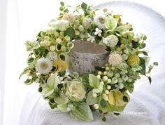 ハンドメイドマーケット minne(ミンネ)| ベリーとグリーンのスプリング・リース:wreath