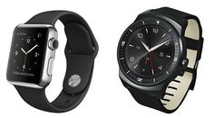 Apple Watch and LG G Watch R are probably the two of the best offerings in the smartwatch market right now. Both the watches come with a unique design and G Watch, Android Watch, Smartwatch, Apple Watch, Good Things, Watches, Smart Watch, Wristwatches, Clocks
