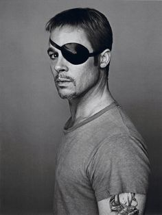 """Brad Pitt Shows Off His Many Faces In """"Interview"""" Magazine"""
