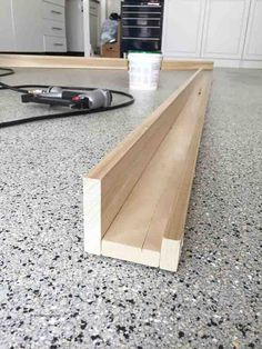 Wie erstelle ich ein DIY Photo Ledge Shelf - How-to-Make-DIY-Foto-Ledges-Tutorial The Effective Pictures We Offer You About diy knutselen A qua - Picture Shelves, Wood Diy, Home Projects, Diy Furniture, Home Diy, Diy Wall, Wood, Home Improvement, Photo Shelf