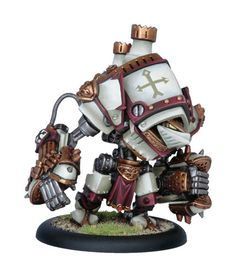 The Castigator is a little expensive on points, but it is can do serious damage without any focus and can clean out pesky enemy troops in a hurry!