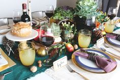 Fall Tablescape - The Inspired Room blog