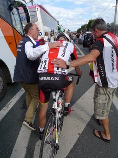 Head injuries getting more attention in cycling, treatment protocol being developed.